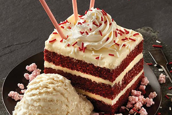 Red Velvet Sparkler Cake