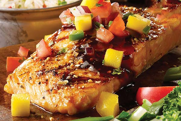 Dragon Glaze Salmon