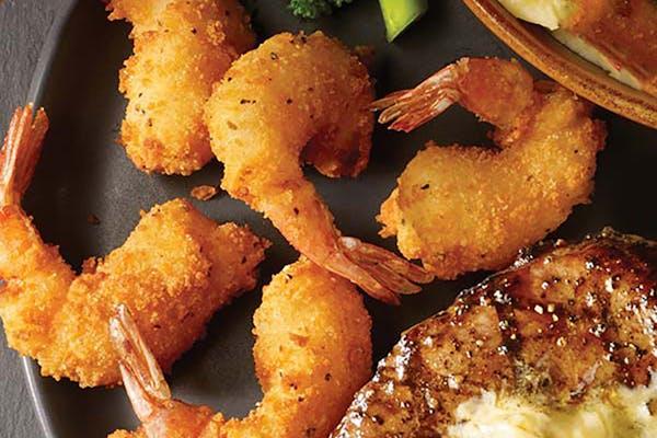 Center-Cut Sirloin & Shrimp