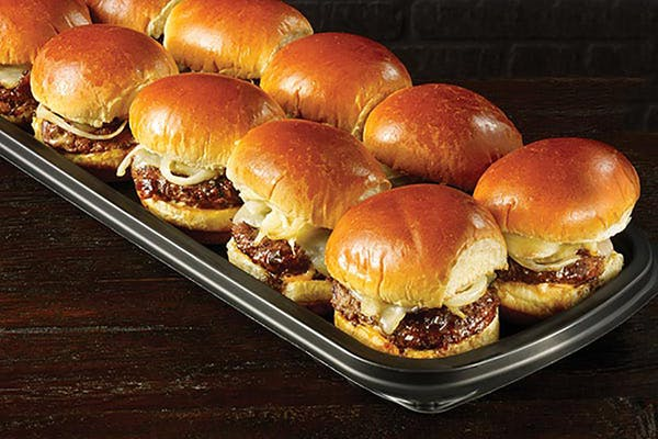 Fridays Signature Whiskey-Glazed Slider