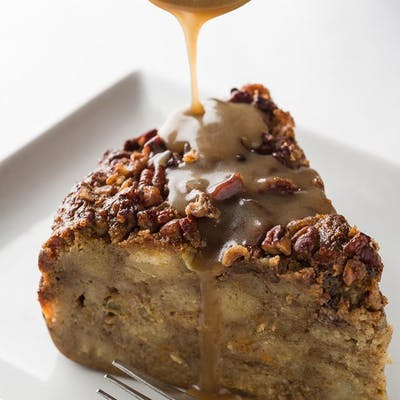 Sweet Potato Pecan Bread Pudding