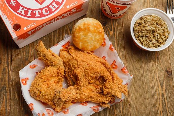 #2 Mixed Bonafide Chicken Combo (2 pc.)
