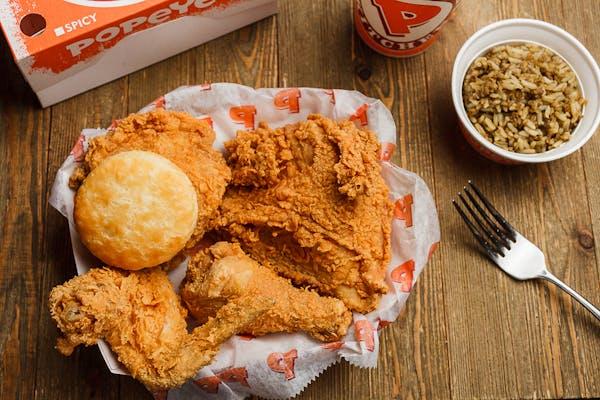 #4 Mixed Bonafide Chicken Combo (4 pc.)