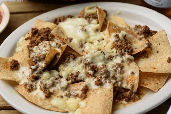 Cheese & Beef Nachos