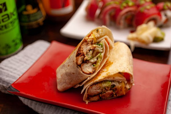 Grilled Chicken Wrap