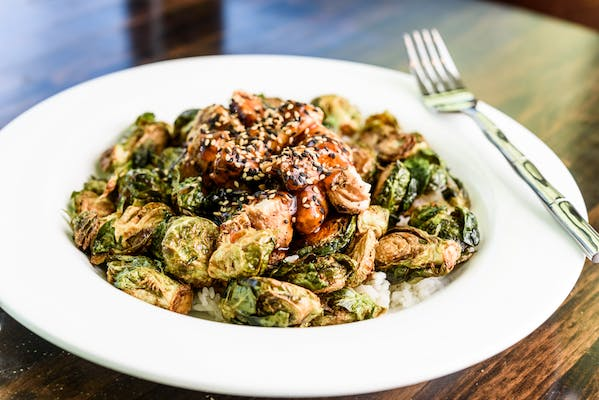 Crispy Brussels Bowl