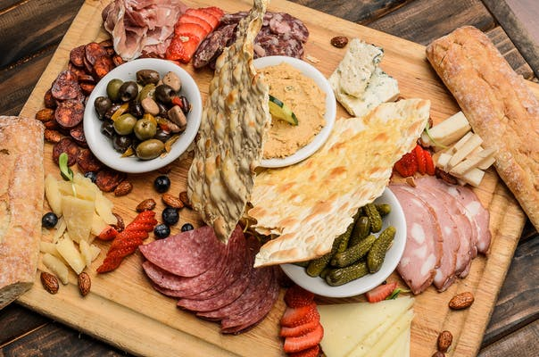 Cheese & Charcuterie Board