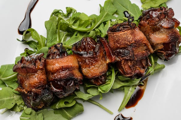 Applewood Smoked Bacon Wrapped Dates