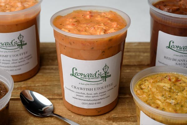 Quart Frozen Crawfish Étouffée
