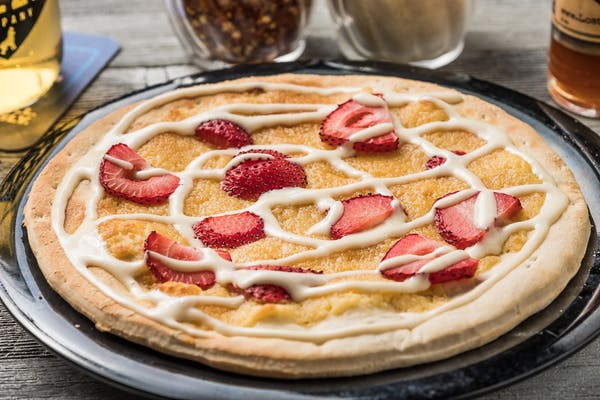 Strawberry Fields Dessert Pizza