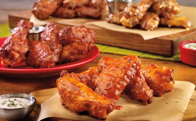 Oven- Baked Wings