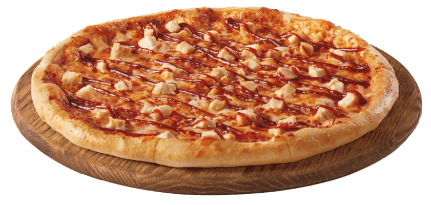 Honey BBQ Chicken Pizza