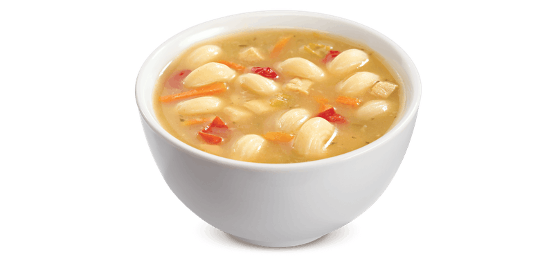 Chicken Cavatappi Soup