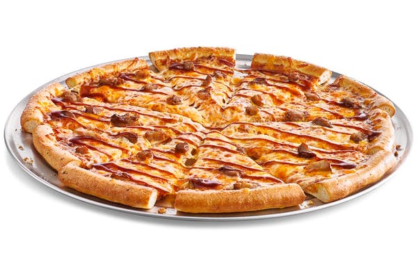 Large BBQ Pork Pizza