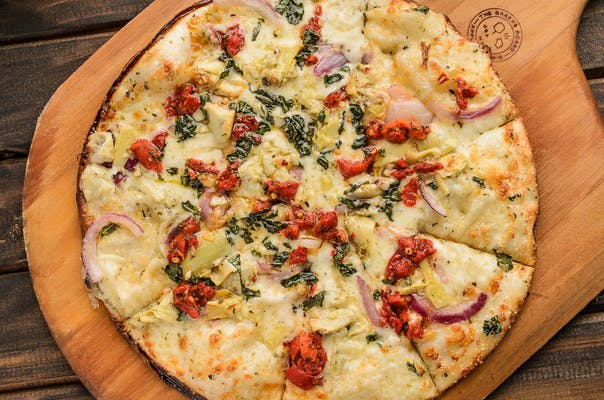 Zesty Artichoke Pizza