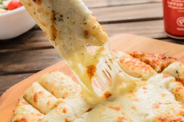 Ooey Gooey Garlic Cheese Bread