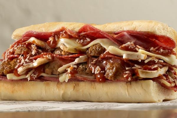 Meatball Hero Sandwich