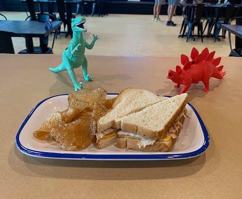 Kid's Turkey & Cheese Sandwich