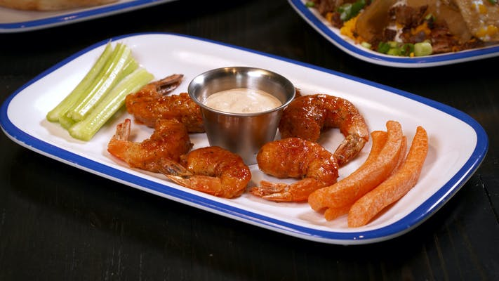 Sweet & Spicy Shrimp