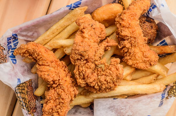 Kid's Chicken Strip Basket