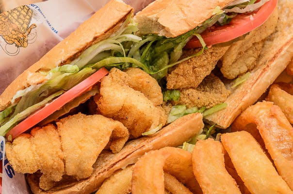 Whitefish Poboy