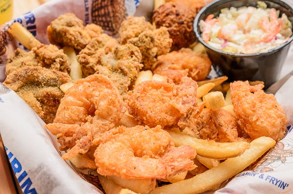 Fried Shrimp & Oyster Basket