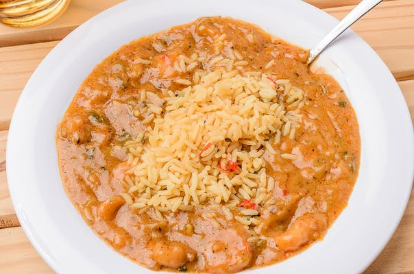 Shrimp Étouffée with Rice