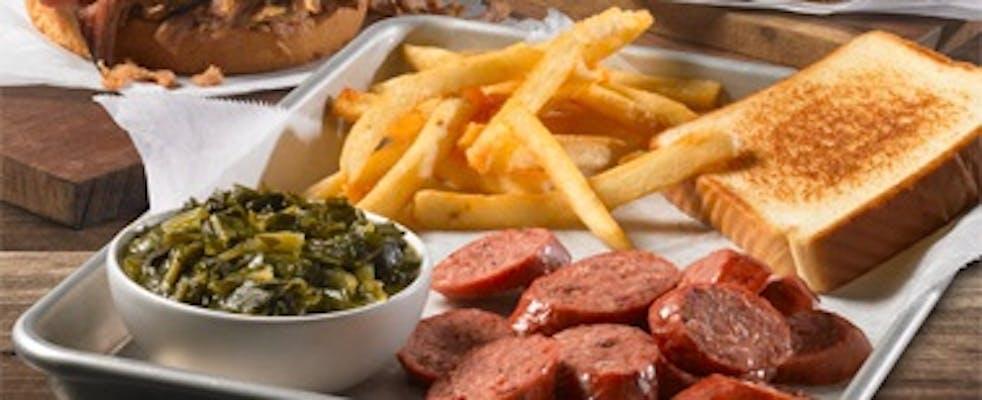 Smoked Brisket Sausage Plate