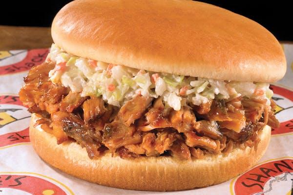 Smothered Pork Sandwich