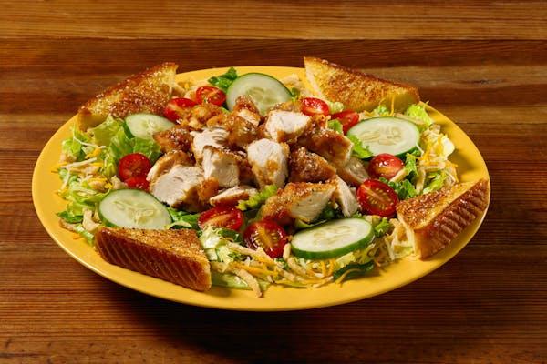 Fried Chicken Tender Salad