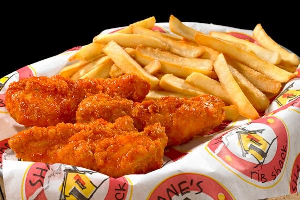 (4 pc.) Tenders & Fries