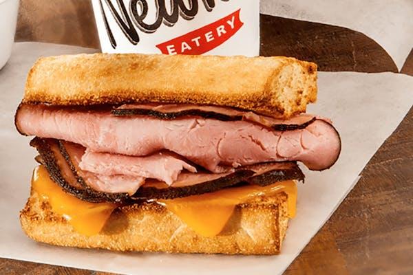 Little Newk's Toasted Ham & Cheese