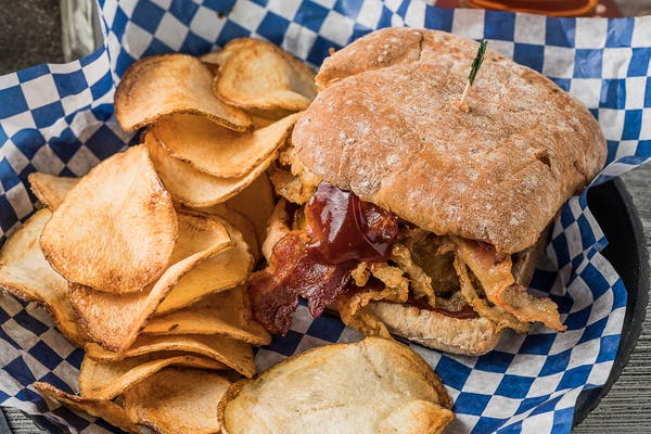 Houston Stackhouse Burger