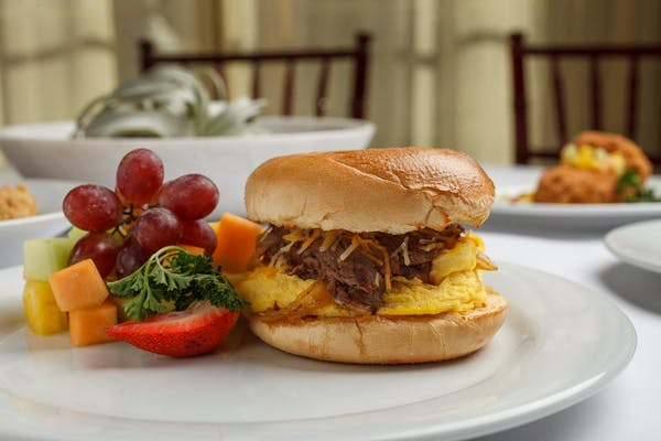 Steak, Egg & Cheese Bagel