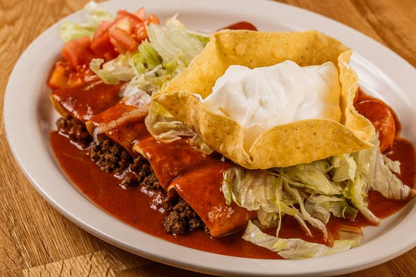 25. Enchiladas Rancheras