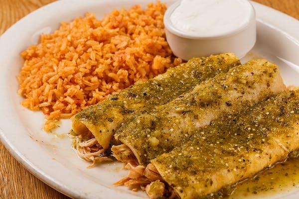 32. Enchiladas Verde