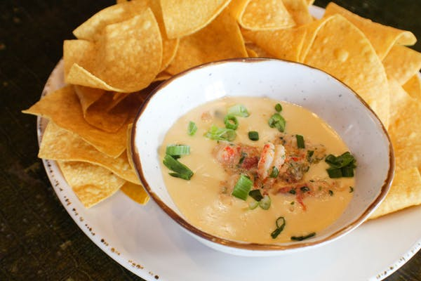 Creole Crawfish & Queso