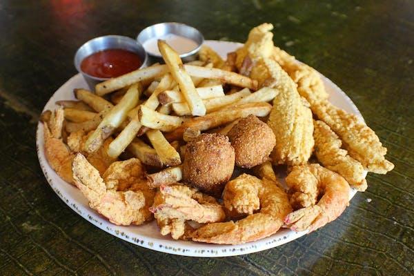 Catfish & Shrimp Platter