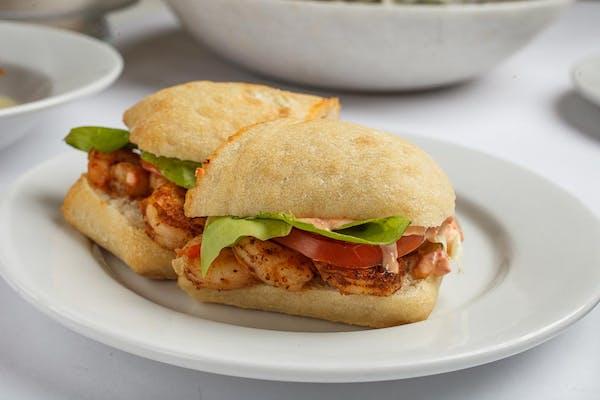 Grilled Shrimp Sandwich