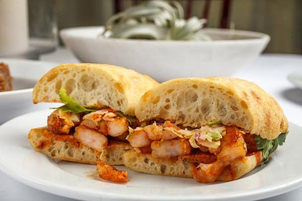 Korean Shrimp Sandwich