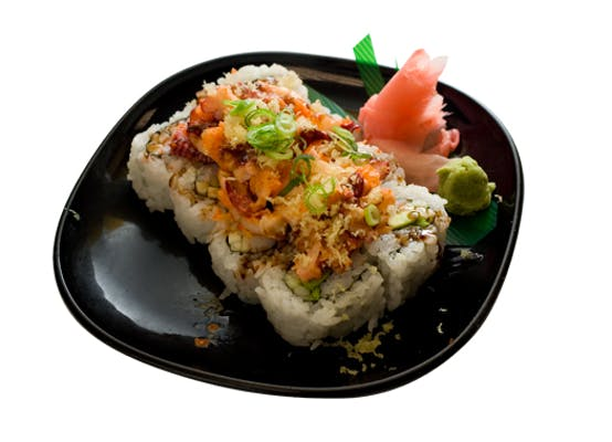 Octopus Crunch Roll