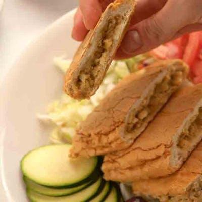 Lunch Chicken Arabie Sandwich