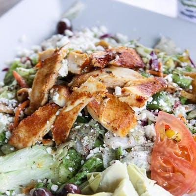 Lunch Chicken Shawarma Salad
