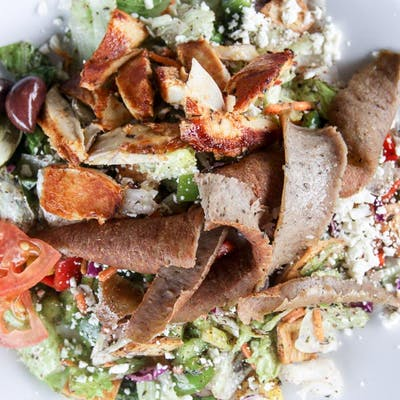 Lunch Combination Chicken & Gyro Salad