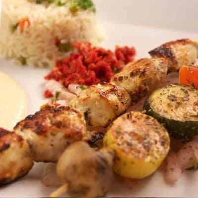Lunch Chicken Kabob
