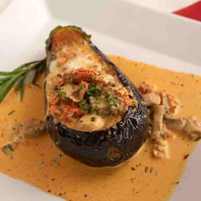 Vegetarian Eggplant Royale
