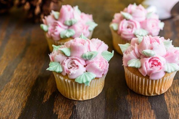 Rose Garden Cupcake