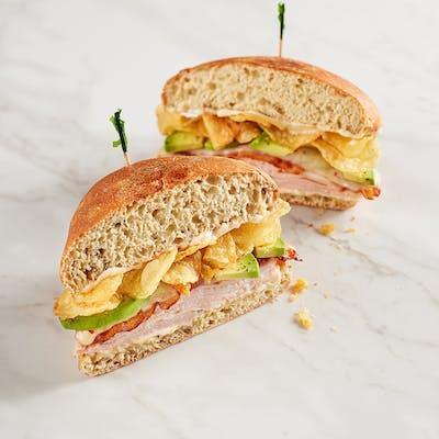 Jalapeño Turkey Crunch Sandwich