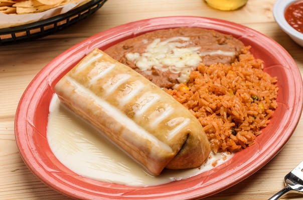 Chimichanga Plate