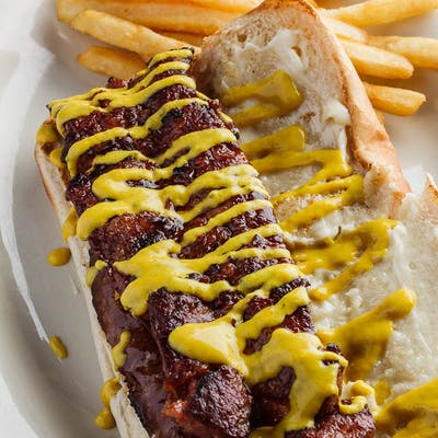 Grilled Sausage PoBoy